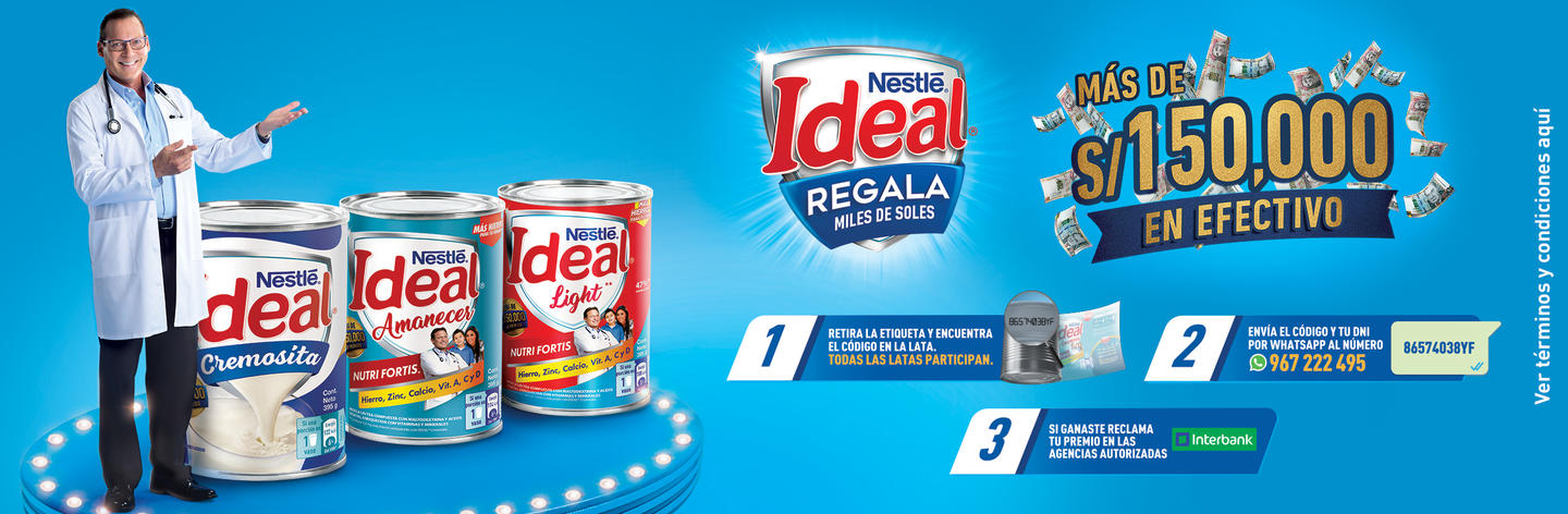 Banner ideal Regala Miles de Soles